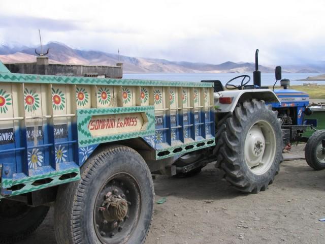 Экспресс транспорт деревни.