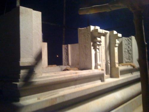 Стройка храма Деви в Карнатаке
