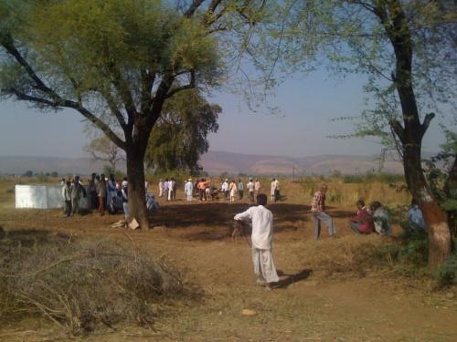 Подготовка к кремации. Раджастан.