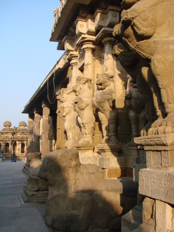 Храм Кайласнатх в Канчипураме