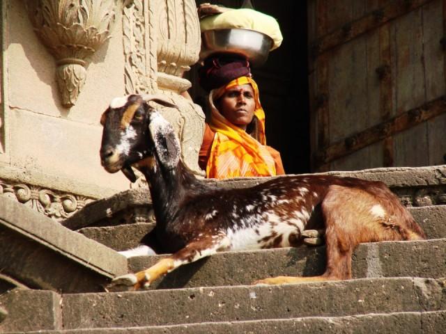 Вот это женщина! Махешвар.
