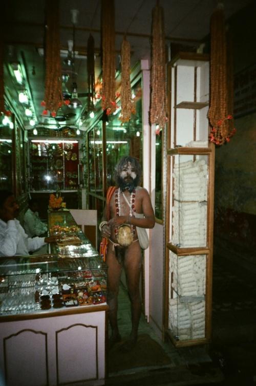 Капалик ,в ювелирном магазине ,Харидвар.