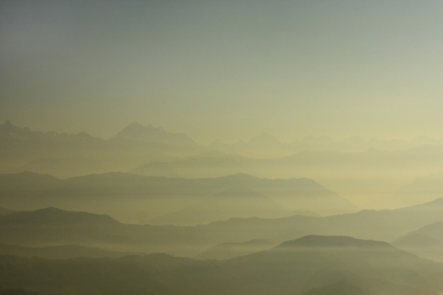 Рассвет в Нагаркоте.