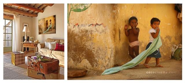 Частичка солнечной Индии в комнате.