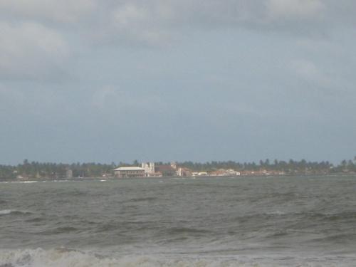 Вид из отеля на Негомбо.