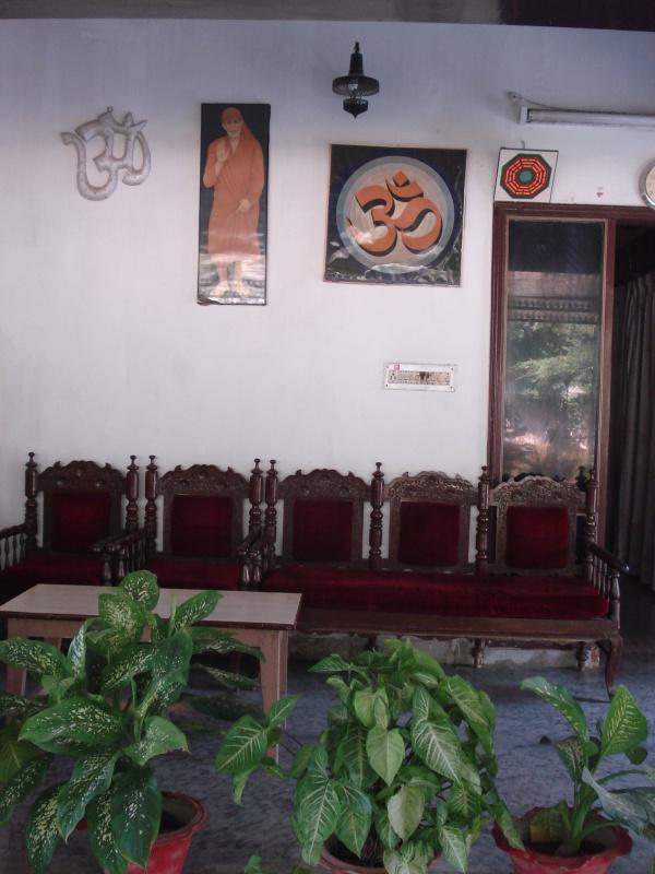 Вход в дом-ашрам Пападжи