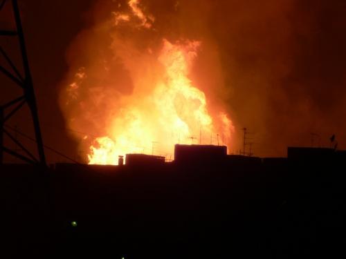 взрыв на трубопроводе