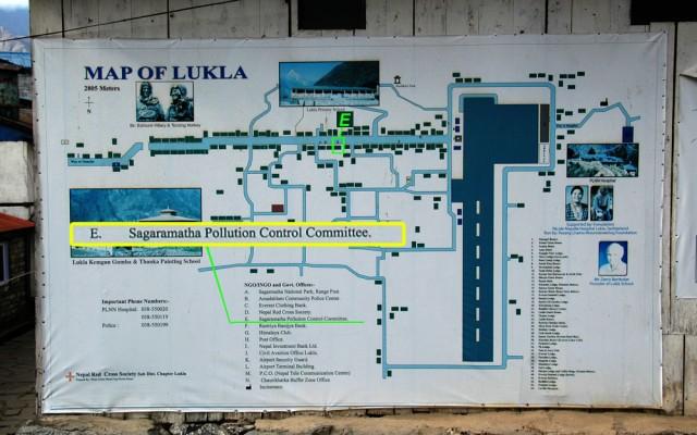 Карта Луклы