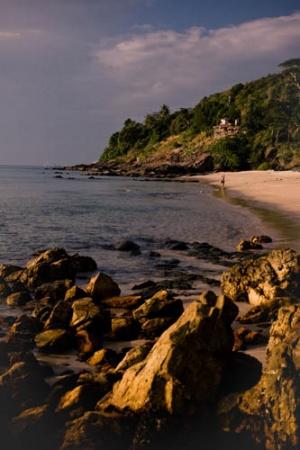 Дикий пляж на Ланте-1