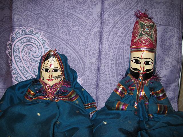 Куклы из солнечного Раджастана - продаю