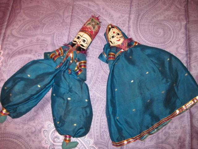 Куклы из Раджастана (Индия) - продаю