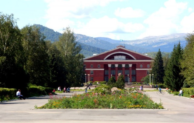 Центр Риддера с дворцом культуры