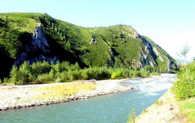 Алтай славится своими реками