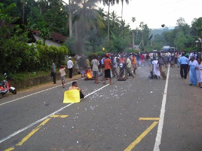 страйк на дороге
