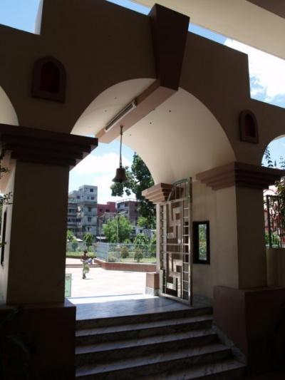 Dhakeshwari temple (inside)
