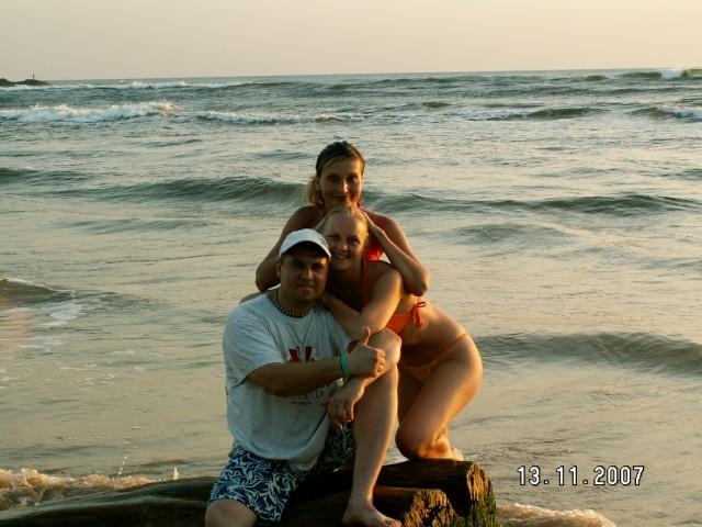 Мы,отдыхающие,и Индийский океан.