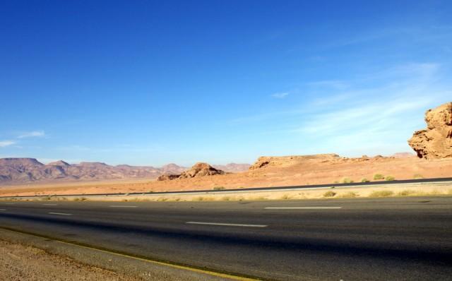 Дорога  в древнюю столицу Набатейского царства