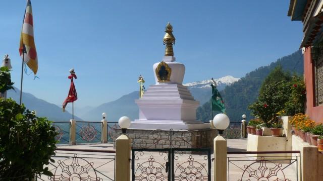 тибет. монастырь в Паньге