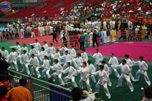 групповое выступление тайцзицюань