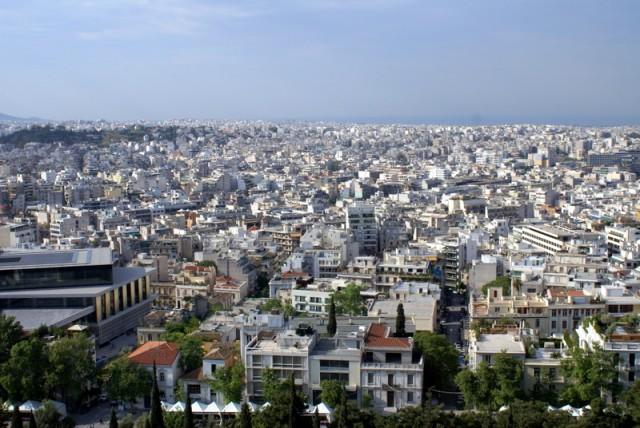 Греческий мегаполис   построен весьма хаотично