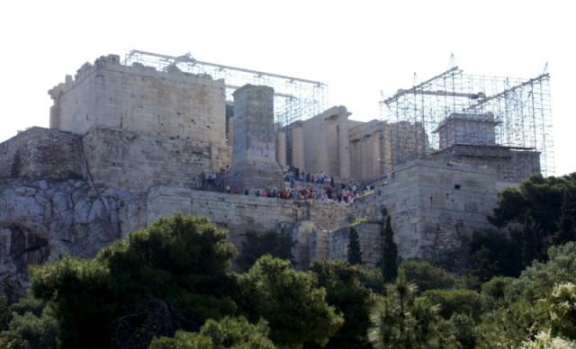 Акрополь в переводе с греческого – Верхний город