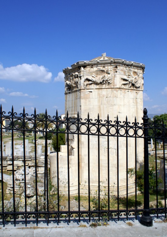 Часть древней Агоры. Давно здесь философствовал Сократ и здесь предстал перед судом