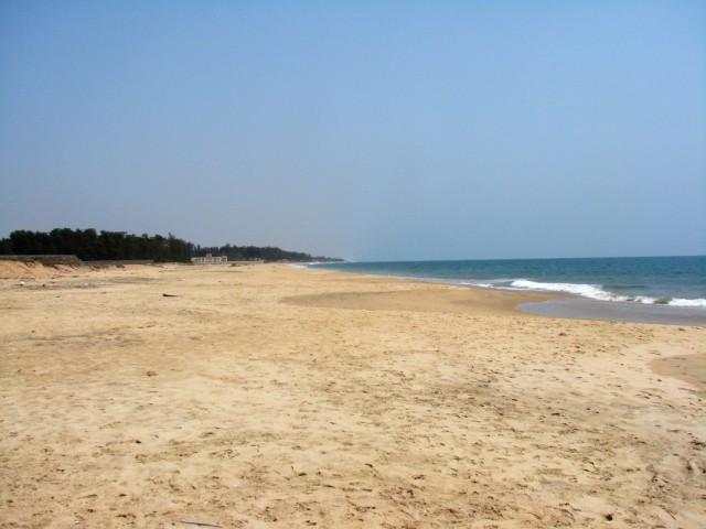 Берег океана в Мамалипураме