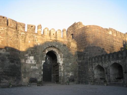 Вход в крепость Даулатабад