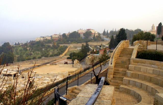 Дорога из Вифании в Иерусалим