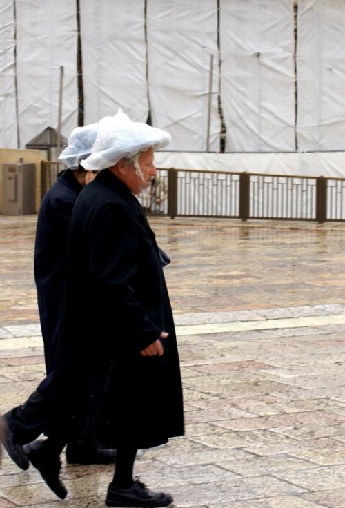 Спешат ортодоксальные евреи