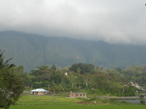 облако на горах