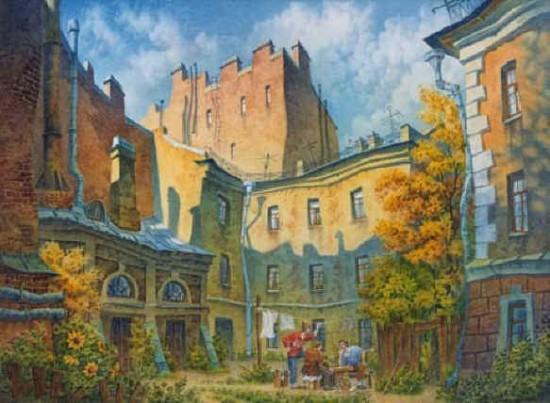 художник В.Колбасов