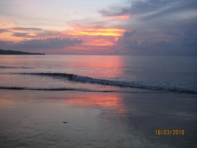 закат в Джимбаране
