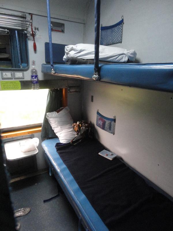 Индийский поезд, 2АС класс
