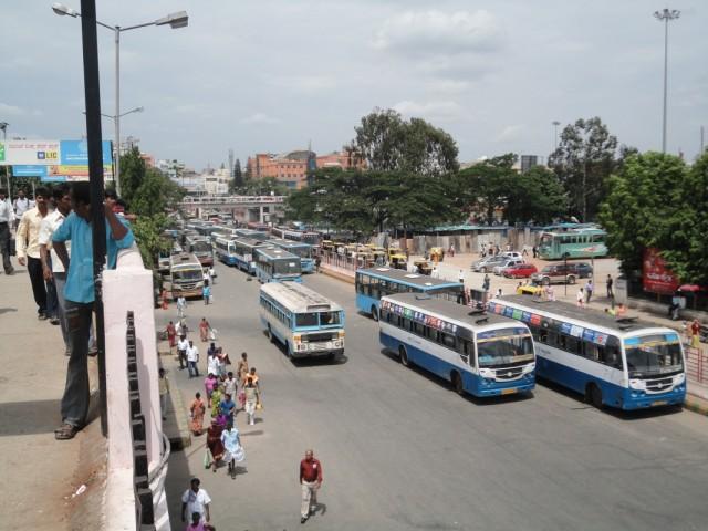 Бангалор, автобусная станция