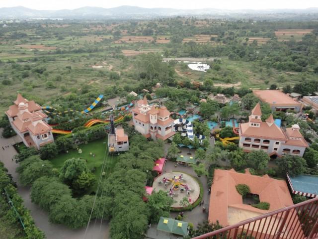 Бангалор, парк развлечений WonderLA