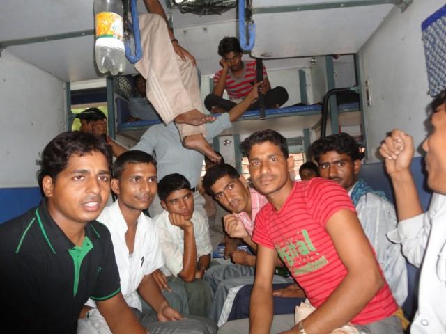 Индийский поезд, слиппер класс