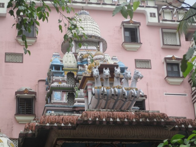 Ашрам Аммы, главный храм