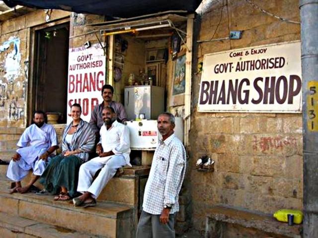 Бханг-шоп в Джайсалмере