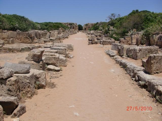 Центральная улица древнего Силенунта