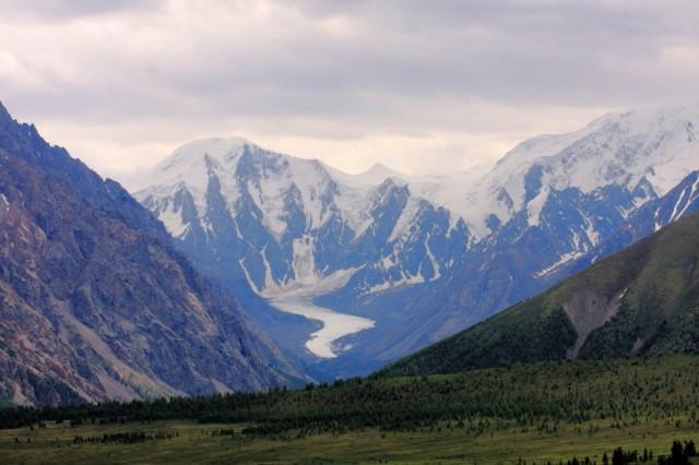 Язык ледника Маашей