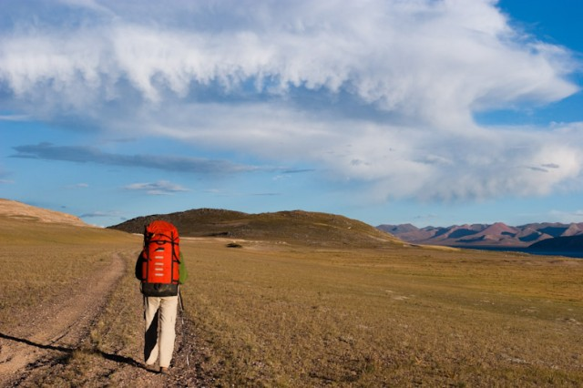 Тоже Тибет. Видите птицу-облако?
