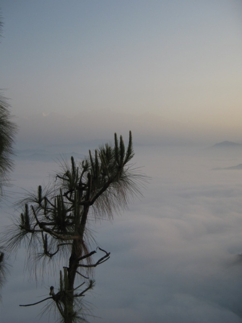 земля, облака и восьмитысячники...