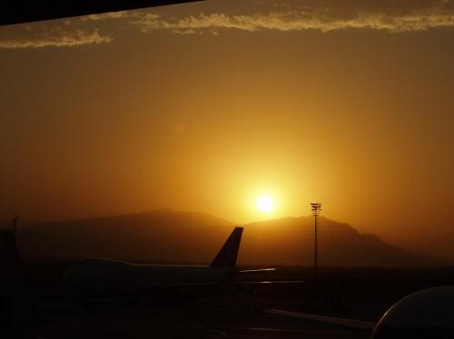 небо Ашгабада