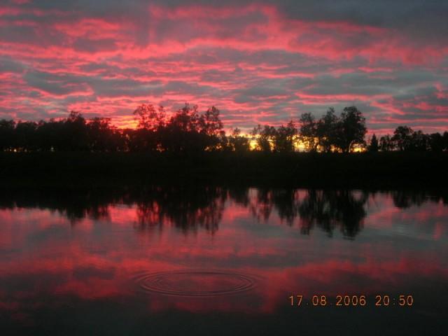 Небо западной Сибири
