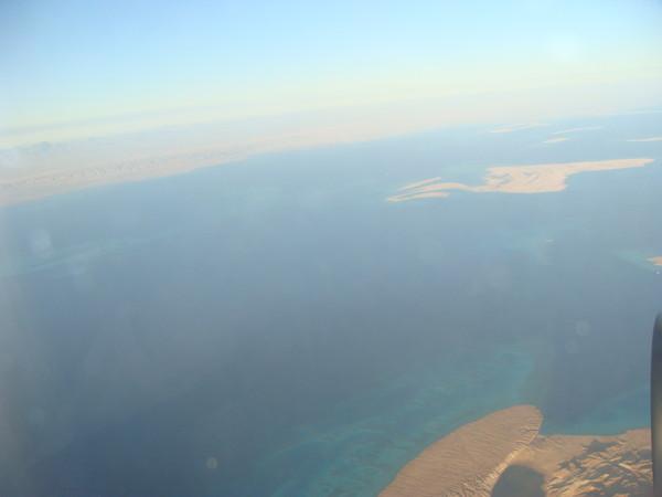 Египетское небо и Красное море.