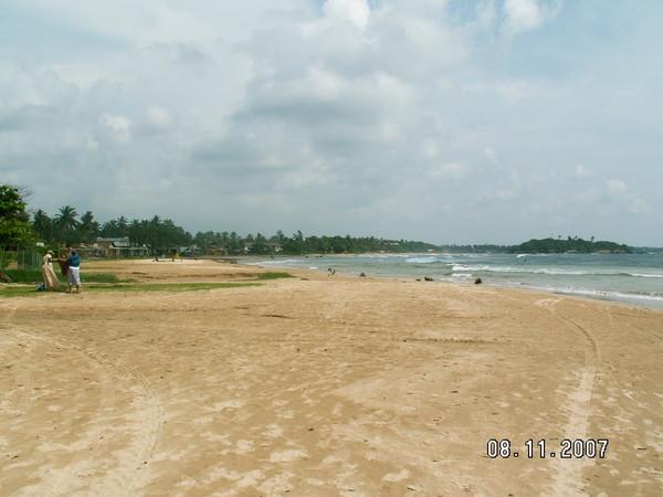 Небо Шри Ланки.