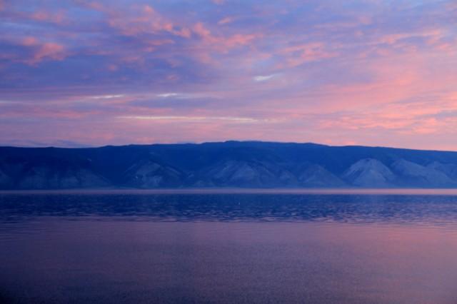 Байкал, Вид на малое море с Ольхона