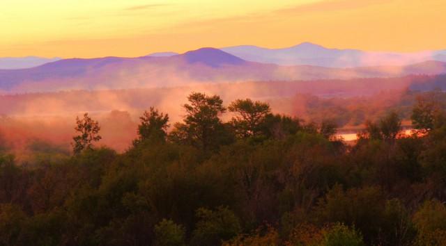 восход над Керанской долиной, Бурятия
