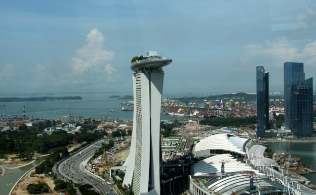 Сингапурский район Marina Bay